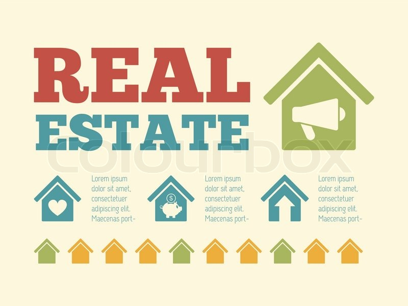 Real estate infographics examples
