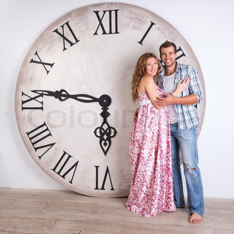 Как сделать часы большими
