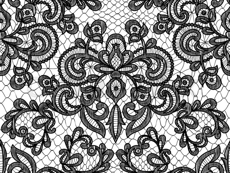 Flower lace pattern