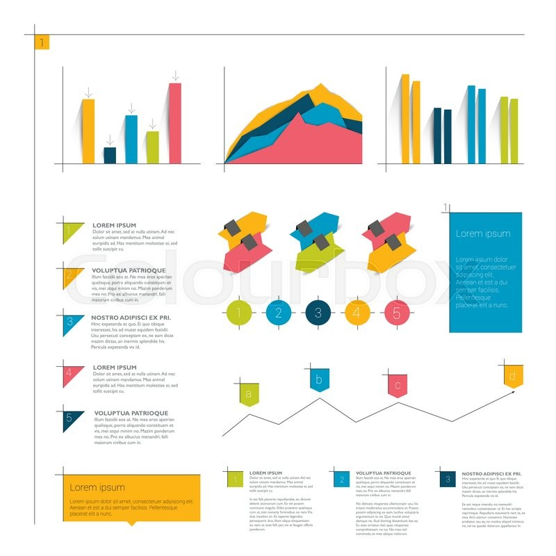 Infographic tutorial illustrator beginner projects with polymer