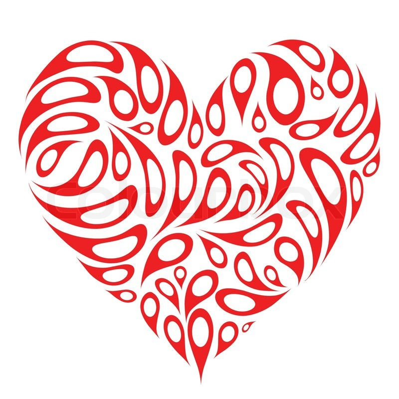 Vector art heart shape