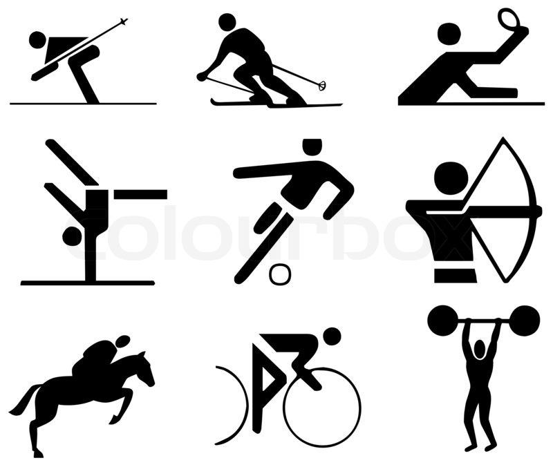Winter Olympic Sports Symbols Clip Art 9867761 Madmelsfo