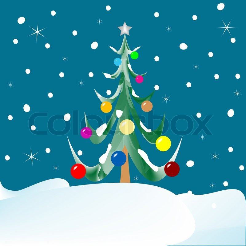 Amazing vector christmas tree images
