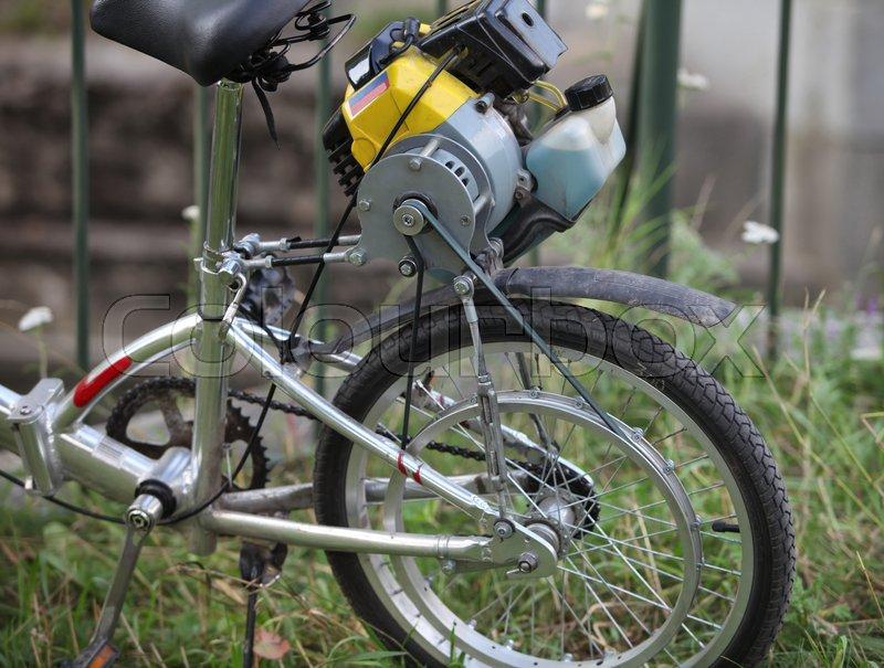 Мотор на велосипед своими руками фото