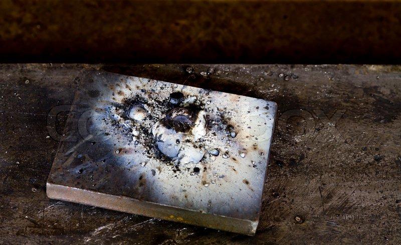 Piece of scrap metal