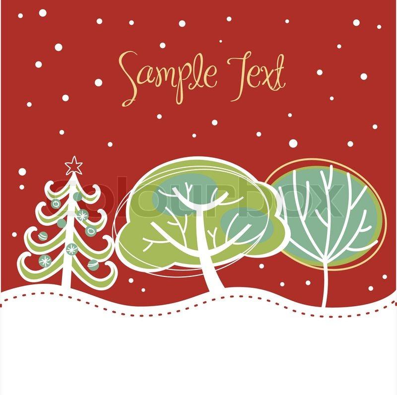 Рождественские открытки вектор 3