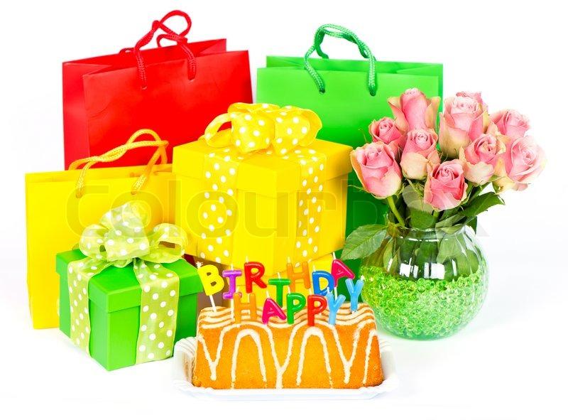 Картинки с тортами и подарками 752