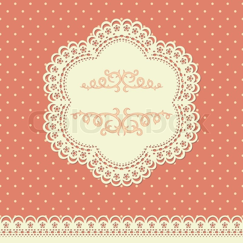 Terrific vector lace images
