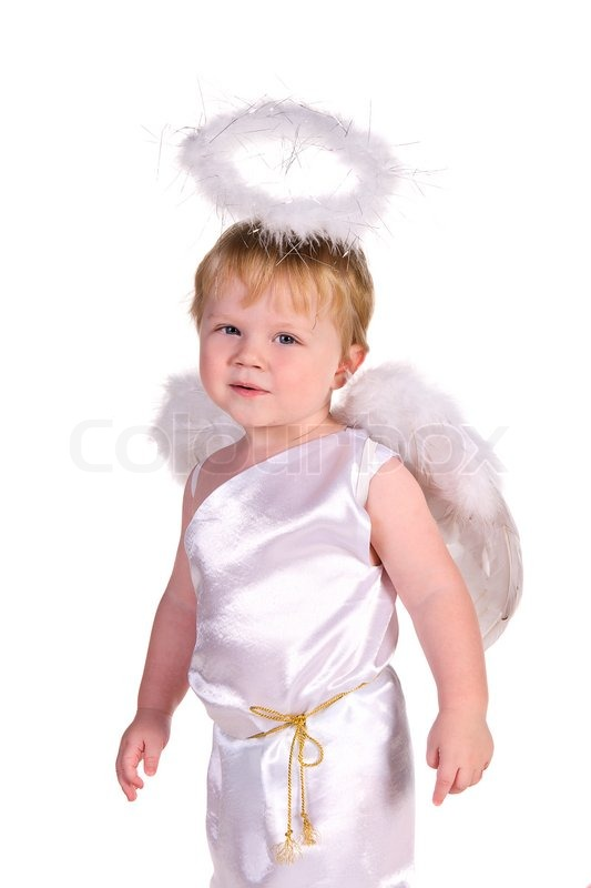Костюм ангела на мальчика своими руками