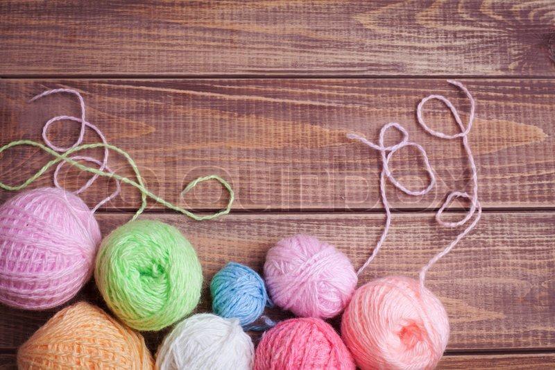 Картинки вязание клубочки 39
