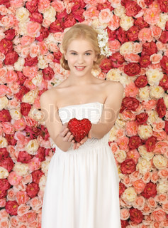 Attractive charming rose bouquet for