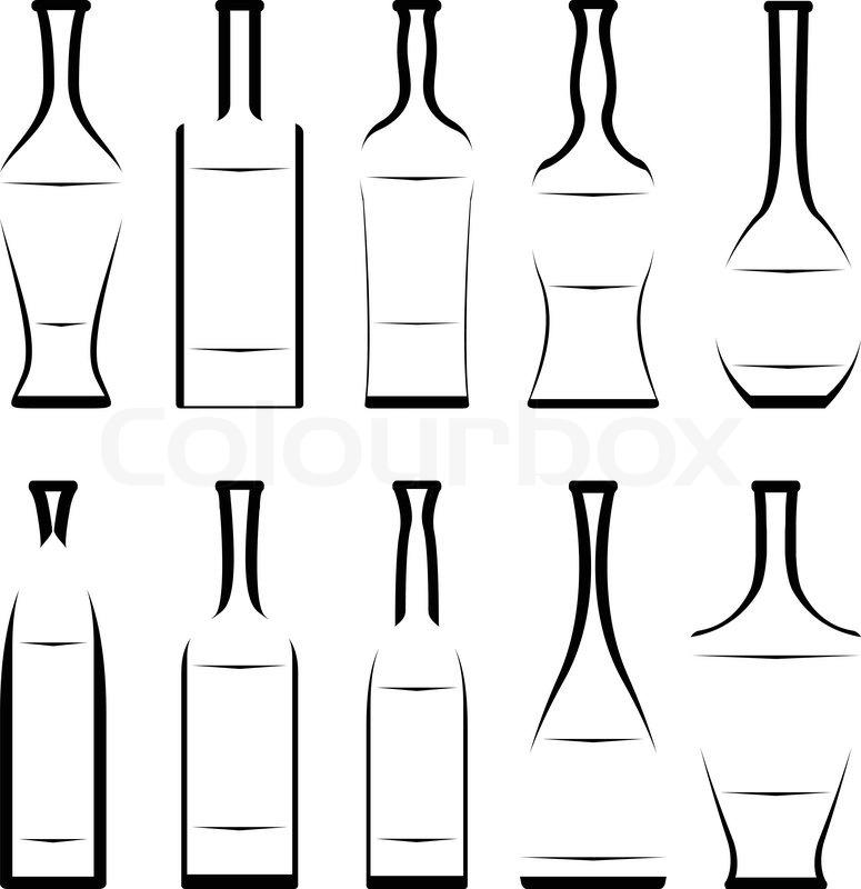 Berühmt Flaschenschablonen Ideen - Beispiel Wiederaufnahme Vorlagen ...