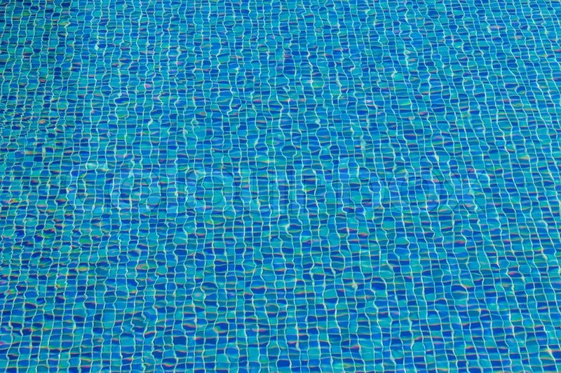 Ceramic tile mosaic in swimming pool - ... | Stock image ...
