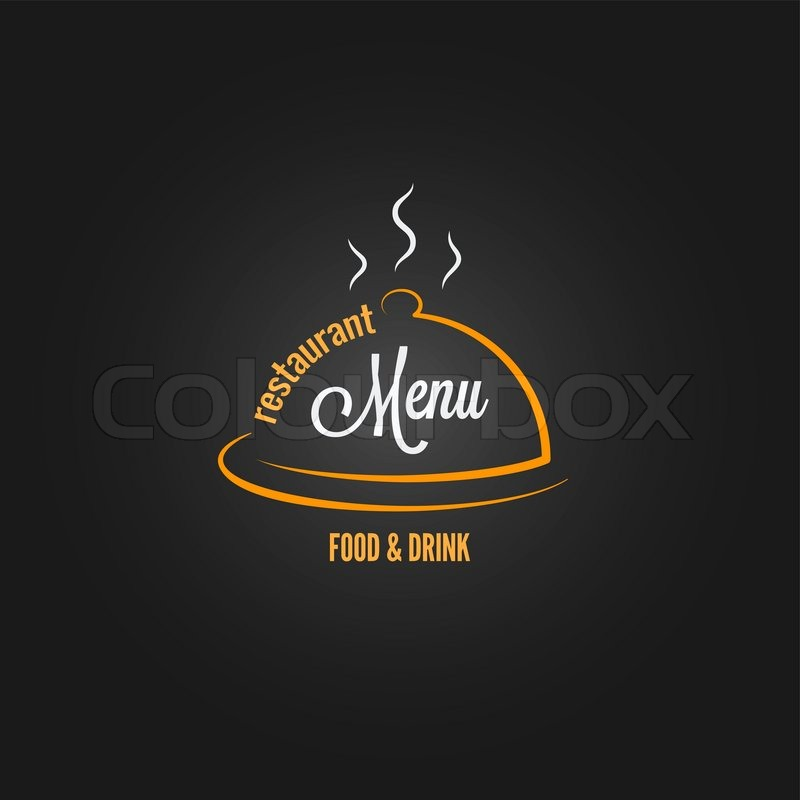Food And Drink Menu Design Background 8 Eps Stock Vector
