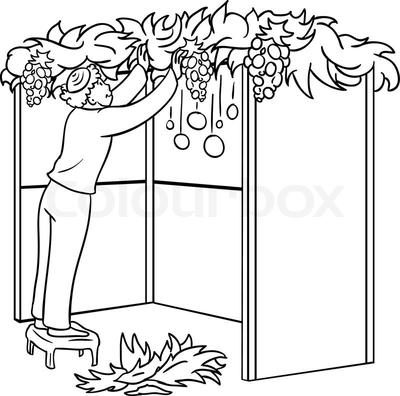 A Vector Illustration Coloring Page Of Stock Vector Colourbox