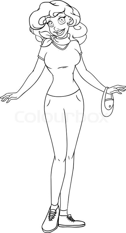 long pants coloring pages - photo#21