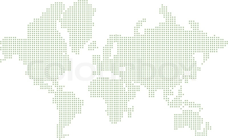 Abstract graphic world map of dots vector illustration stock abstract graphic world map of dots vector illustration vector gumiabroncs Choice Image