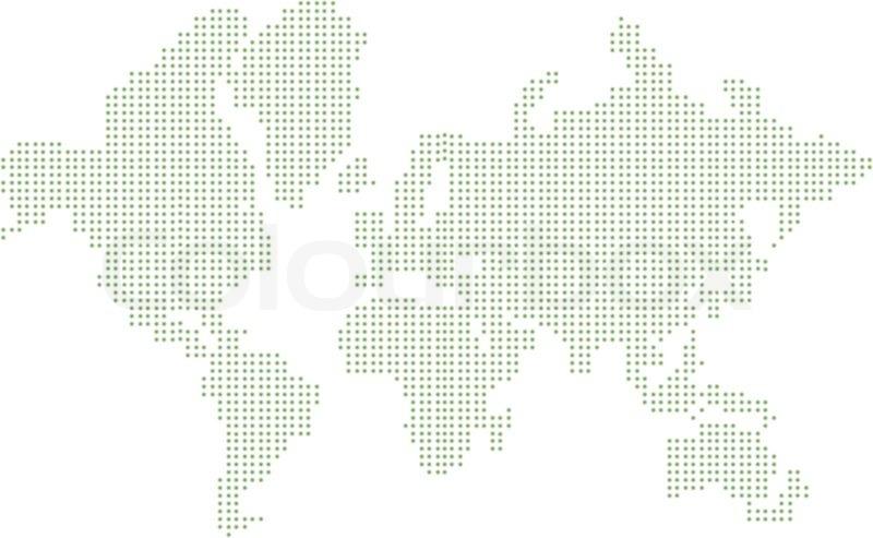World map  Stock Vector  Colourbox