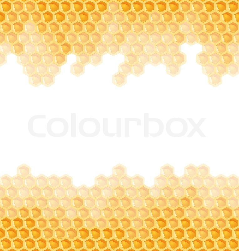 Honeycomb background endless stock vector colourbox voltagebd Image collections