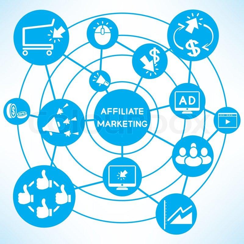 10119340-affiliate-marketing-blue-connec