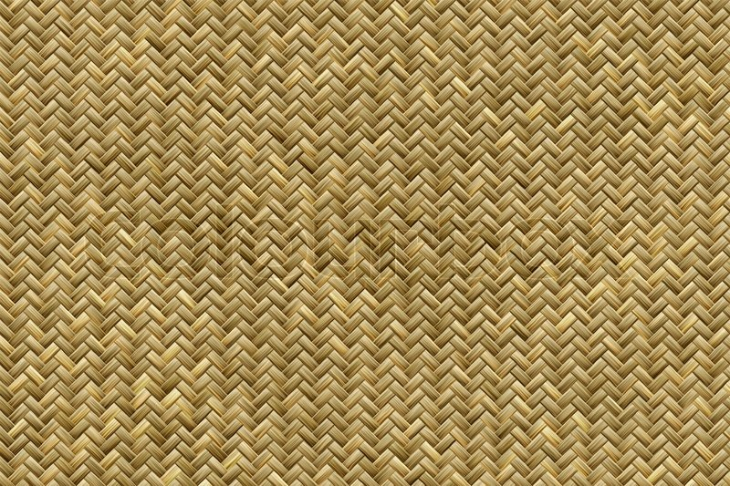 Rattan Basket Weaving Patterns : Computer generated graphic design of realistic bamboo