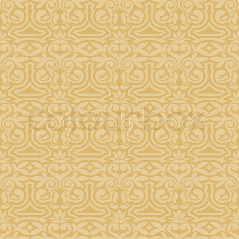 Damask Beautiful Background With Rich Stock Vector Colourbox