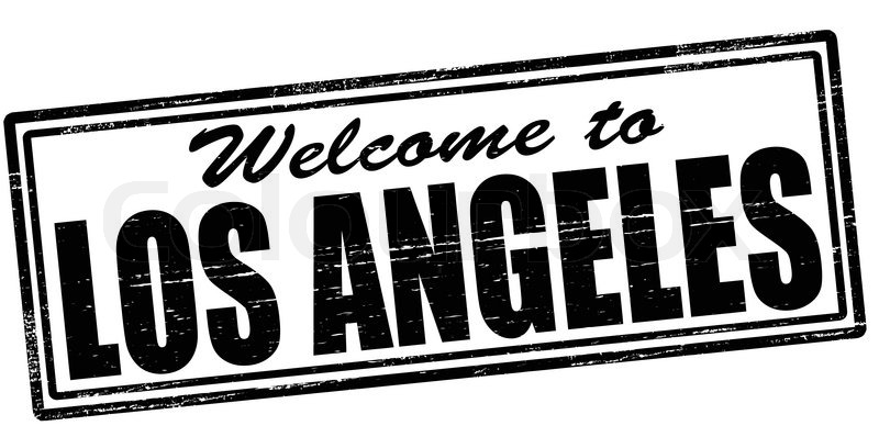 Stamp With Text Welcome To Los Angeles Inside Vector