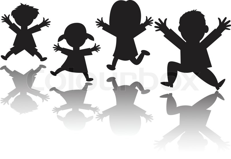 Image result for family of four silhouettes