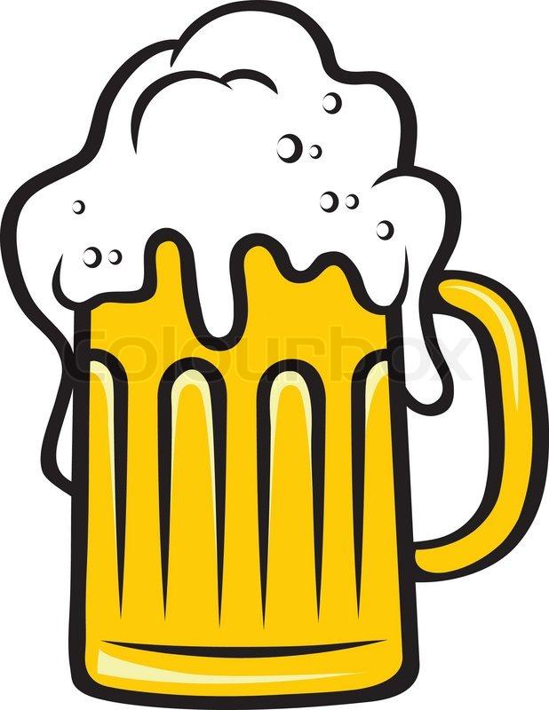 Seidel Bier Mit Einem Gro 223 En Schaumigen Kopf