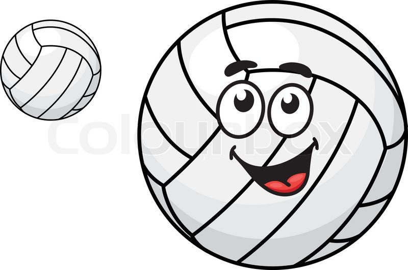 two volleyballs  one with a happy smiling face and other sports balls clip art free sports balls clipart black and white