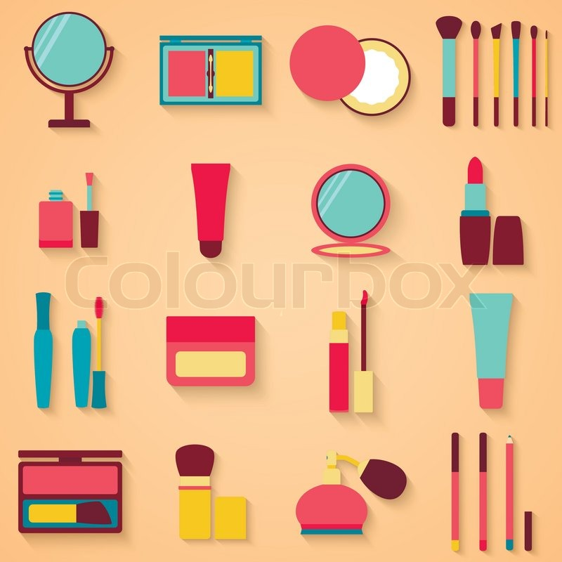 Makeup Icon Vector Makeup Vector Eps 10