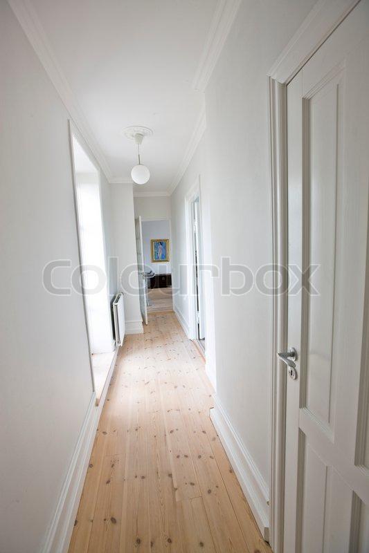 Hallway corridor entrance stock photo - Corridor entrance ...