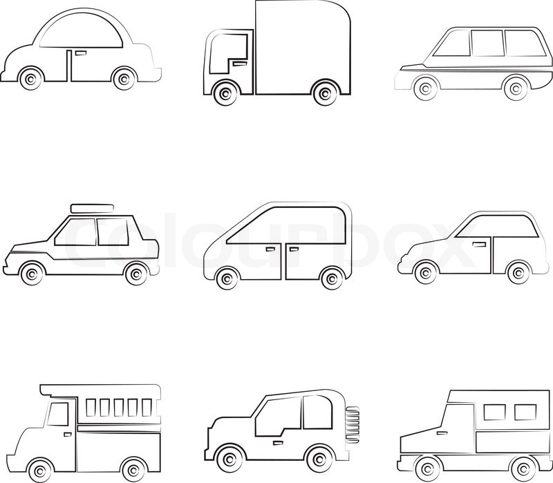 Charmant Skizzieren Auto Fotos - Elektrische Schaltplan-Ideen ...