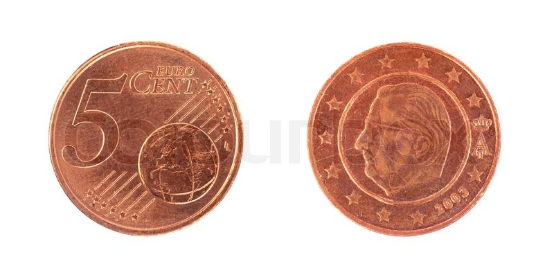 5 Euro Cent Münze Stockfoto Colourbox