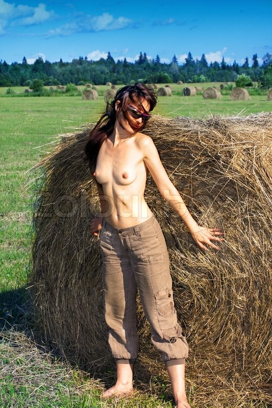 Nude In Field 26
