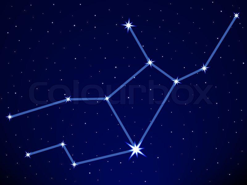 Constellation virgo the virgin