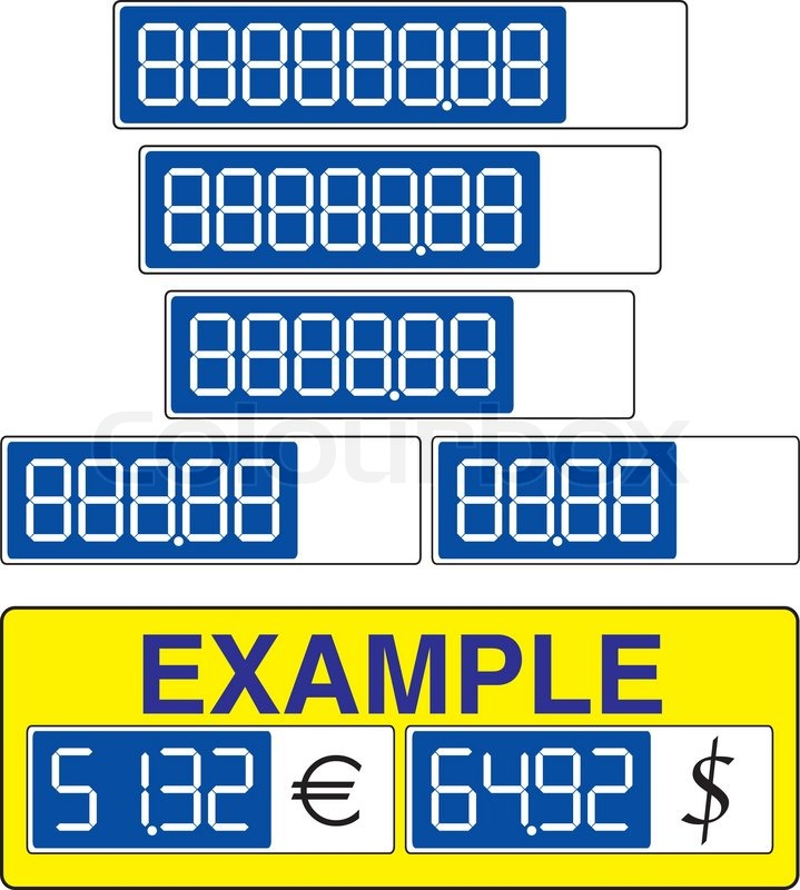 empty pricing tag template use blue marker and draw desired price
