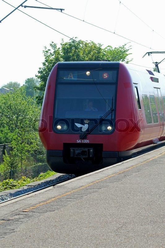 S-tog, linje A | stock foto | Colourbox