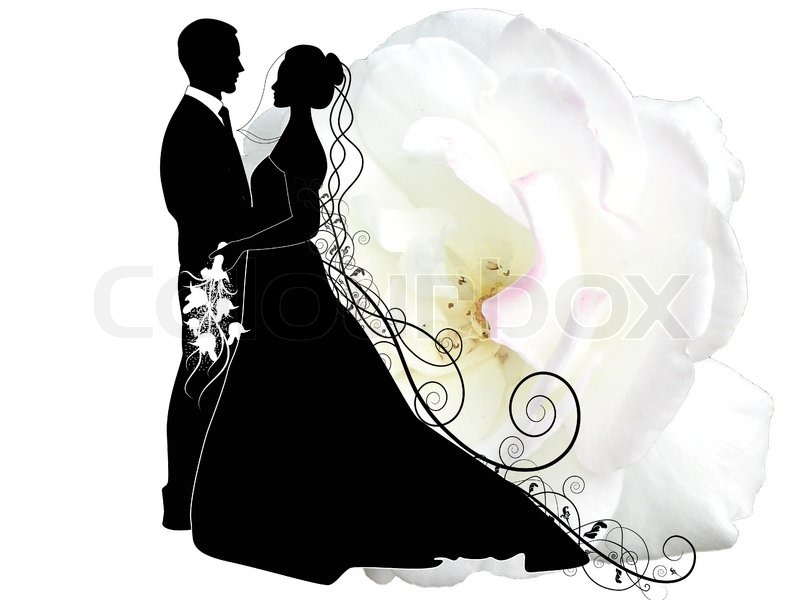 Top Logo Design wedding logo design inspiration : Hochzeitspaar : Vektorgrafik : Colourbox