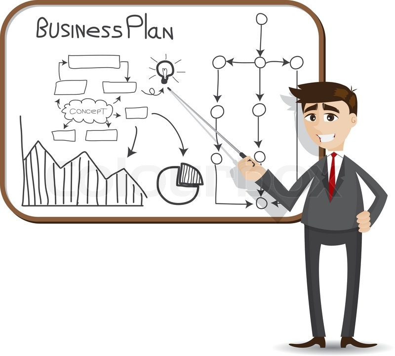business planning cartoons