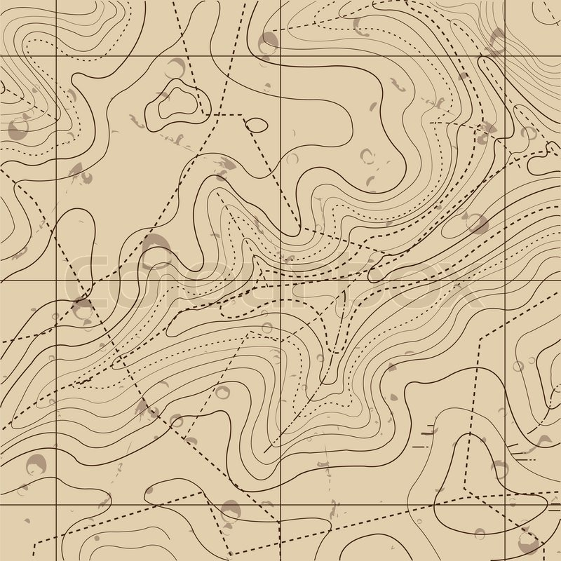 Abstract retro topography map background stock vector colourbox abstract retro topography map background vector gumiabroncs Images
