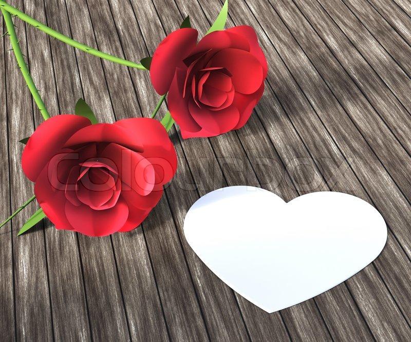 herz rosen angibt valentinstag und bloom stockfoto colourbox. Black Bedroom Furniture Sets. Home Design Ideas