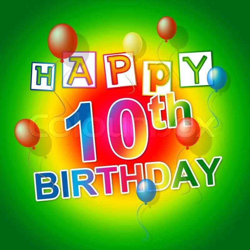 Zum 10. Geburtstag