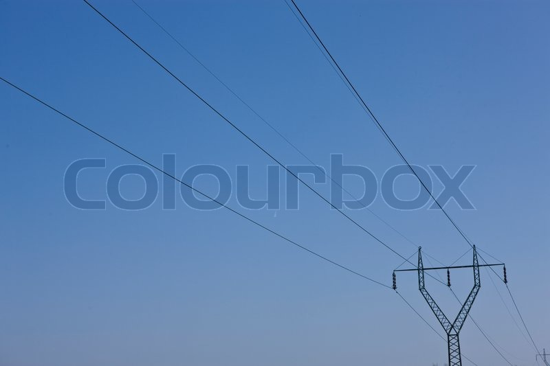 Stock image of 'Electrical cables'