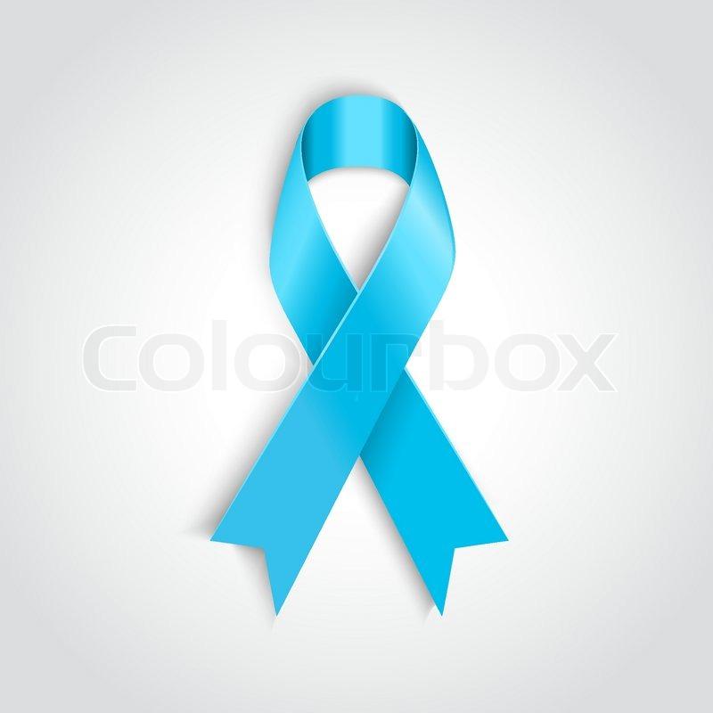 leichte blaue band als symbol der prostata krebs vektorgrafik colourbox. Black Bedroom Furniture Sets. Home Design Ideas