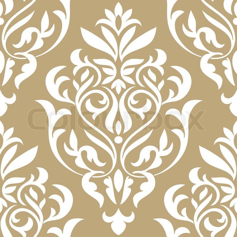 damast sch nen hintergrund mit reichen alten stil luxus verzierung beige altmodischen. Black Bedroom Furniture Sets. Home Design Ideas