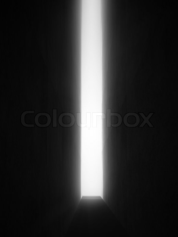 dunklen raum stockfoto colourbox. Black Bedroom Furniture Sets. Home Design Ideas