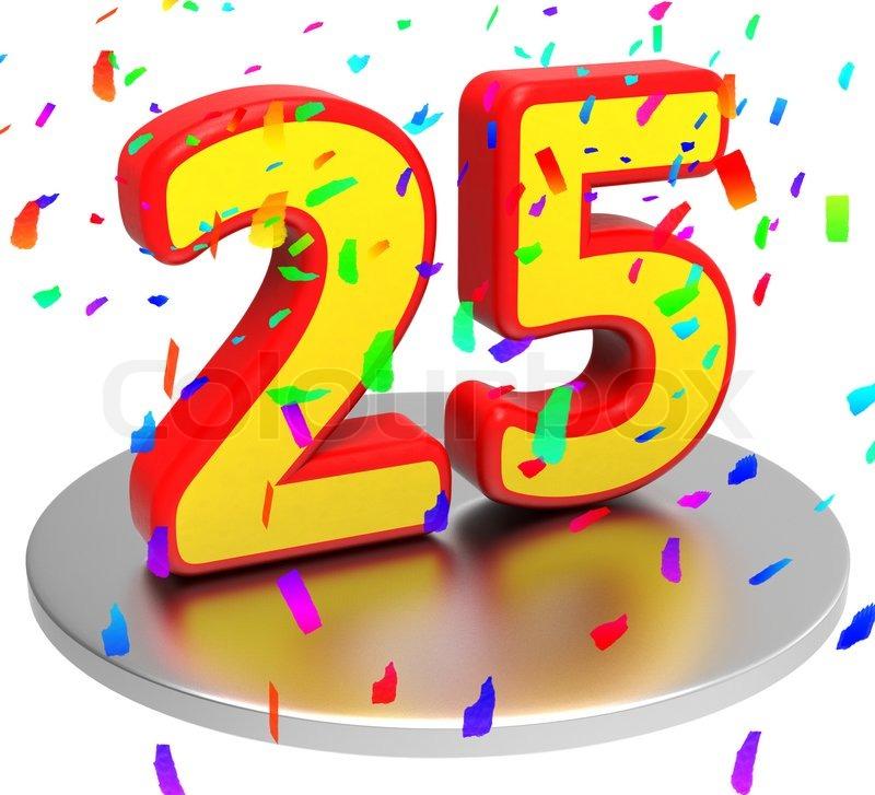 25 års dag 25 Års Jubilæum Billeder — YinHe438 25 års dag
