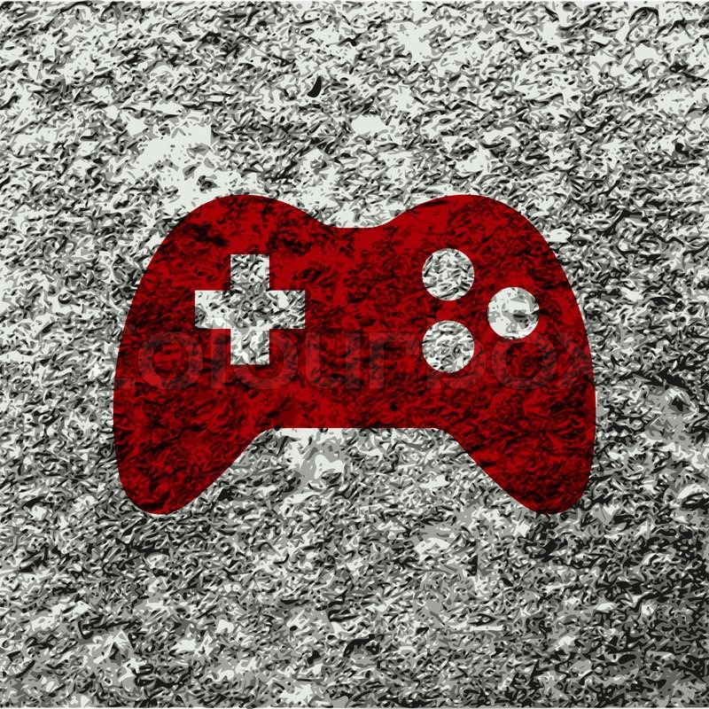 Video Game Controller Icon Gaming Joystick icon f...