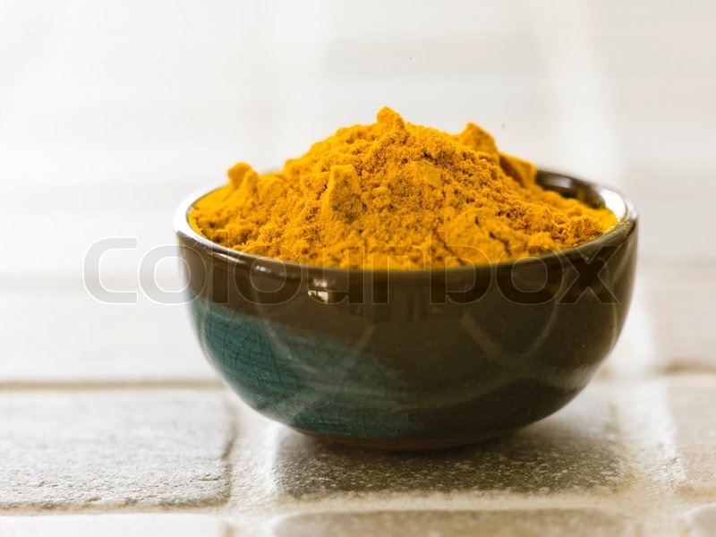 Indian curry powder, stock photo